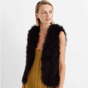 CLUB MONACO Violet Feather Vest - XS (NWOT)